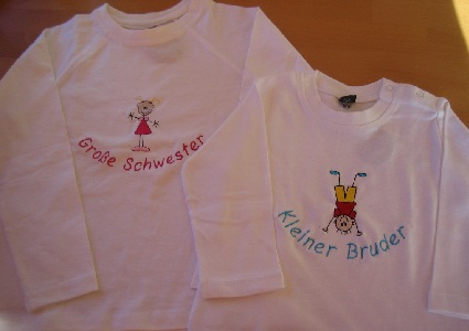 albstickerei t-shirt